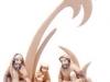 Lagerfeuergruppe - € 138,60 (12 cm, lasiert)