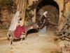 Weihnachtskreis-Krippe