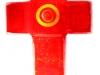 NEU! Kinderkreuz aus Glas rubinrot 12x7,5cm € 16,--