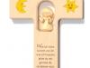 Holzkreuz mit Engel geschnitz