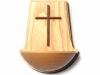 Holz-Weihwasserkessel Esche natur,