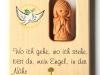Weihkessel Ahorn mit Tonengel - Nr. 40/2 (passend zum Kreuz) -   € 22,--