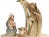 Krippenstall mit Morgenstern-Figuren (Salcher) 15cm/c - Art.: 2715 - € 197,00