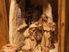 Orientalische Laternenkrippe mit LEPI-Holzfiguren 2fach gebeizt 10cm - lagernd