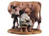 Kuh mit Melker Art.: 10700-054 - 12cm color/ € 79,-- (nur 12+16)