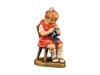 Mädchen mit Strickzeug am Hocker Art.: 10700-223 - nur 12cm /€ 46,90