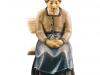 Sitzende Frau (ohne Bank) Art.: 10701-012c o.S. - 10cm color/€ 66,50