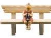 Mädchen mit Strickzeug (ohne Bank) Art.10701-223 - 10cm color/€ 31,80