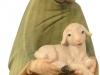 Hirt mit Schaf kniend 10cm/aqu - Art.: 1820 € 37,50