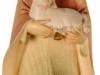 Hirt mit Schaf stehend 10cm/aqu - Art.: 1821 € 37,50
