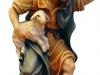 Hirt mit Lamm auf Arm 9,5 cm color