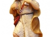 Hirt mit Lamm auf Schulter 9,5 cm color