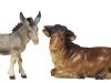 Ochs und Esel 9,5 cm color