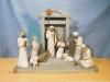 Krippe Jesu - Nr. 269951 (Bestehend aus: 1x 26106, Krippen-Stall, 1x 26027)